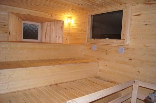 Reparación de problemas internos del sauna de un spa
