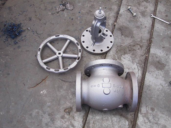 Reparacion de valvula de compuerta de un Spa