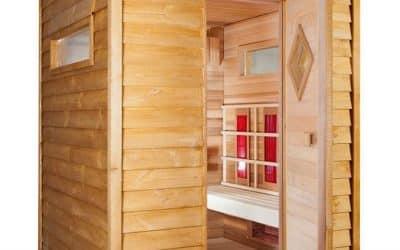 Reparación de problemas externos del sauna de un spa