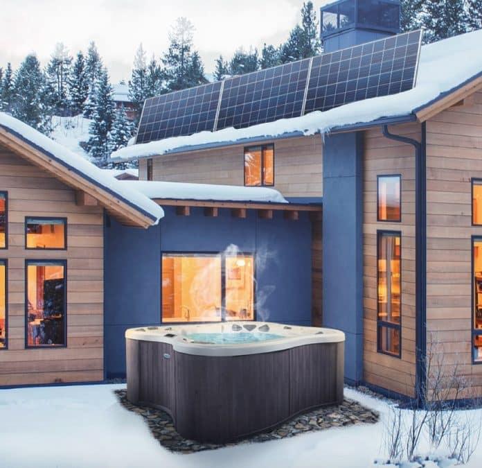 Energía renovable en piscinas y jacuzzis